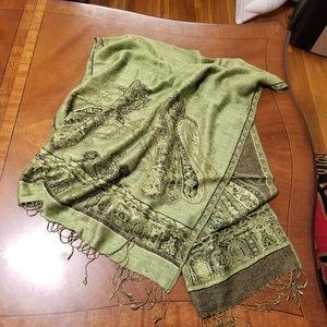 Accessories - Silk Pashmina scarf